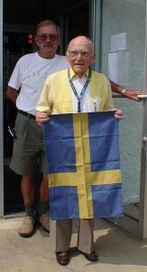 Conrad Johnson 103 år
