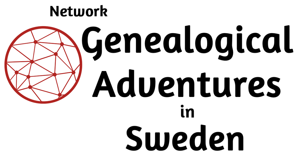 Network Genealogical Adventurs in Sweden